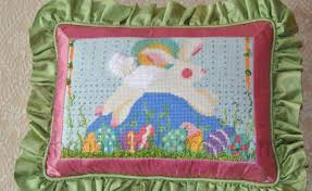 creations painted needlepoint canvas the painted apron