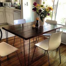 Ft Hairpin Leg Dining Table Modern Dining Tables Los - Dining room tables los angeles