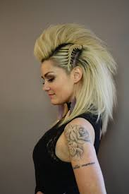 Badass Hairstyles For Girls by 56 Punk Hairstyles To Help You Stand Out From The Crowd