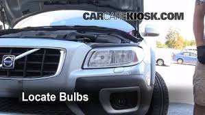 bulb failure position light volvo s60 parking light change 2008 2016 volvo xc70 2008 volvo xc70 3 2 3 2l