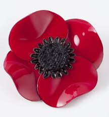 poppy pin red the museum shop of the art institute of chicago