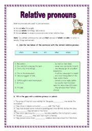 english worksheets relative clauses worksheets page 14