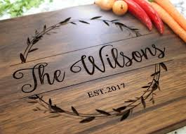 engraved cutting board wedding gift 311 best laser engraved wood cutting boards and signs images on