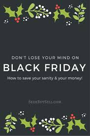 black friday tips for shopping sourcing