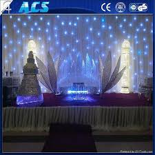 Curtain Vision Reasonable Price Modeling Studio Background Led Star Vision