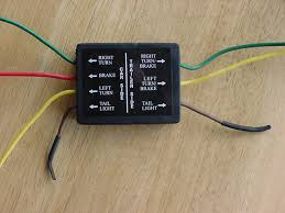 need to know left rear turn signal wire color
