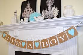 it u0027s a boy banner baby shower decorations burlap banner