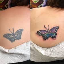 butterfly tattoo reddit 16 brilliant tattoo additions that changed everything