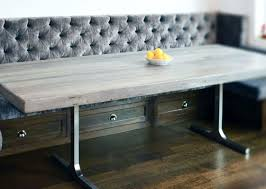 bench delightful rustic bench style dining table impressive