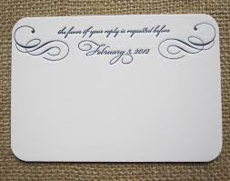 wedding invitations with rsvp cards included rsvp card insight etiquette every last detail