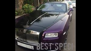 purple rolls royce best spec purple rolls royce wraith youtube