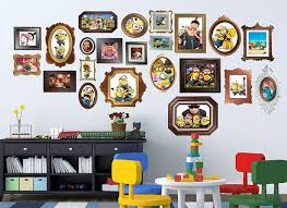 Minions & Gru Family Frame Wall Decals