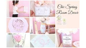 chic spring room decor girly u0026 diy youtube