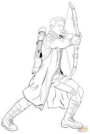 hawkeye coloring pages 1103