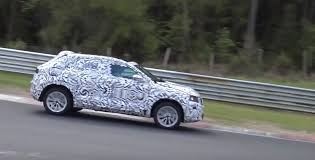 2018 volkswagen t roc doing stability tests on the nurburgring
