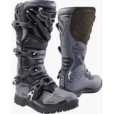 off road motorcycle boots mx17 fox comp 5 offroad boot black grey go mx cape town