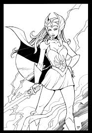 she ra coloring pages 106 best she ra images on pinterest princess of power comic art