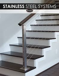 What Is A Banister On Stairs by The Sleek Design Of Stainless Steel Cable Rail Systems Pair Well