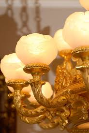Antique Alabaster Chandelier Gilt Wood And Alabaster Chandelier C 1900 Russia From Maurice
