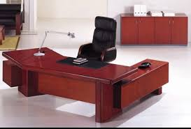 Office Desk Executive Angled Office Desk Sophisticated Office Desk