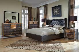 Michael Amini Bedroom by Hollywood Loft Ganache Bedroom Set By Michael Amini Bedroom Sets