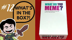 Whats In The Box Meme - what s in the box ep 12 what do you meme youtube