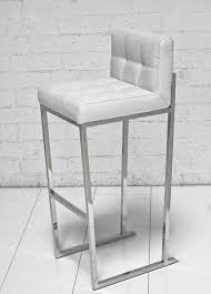 White Leather Bar Stool Www Roomservicestore White Croc Bar Stool