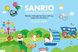 our characters official home of hello kitty u0026 friends sanrio