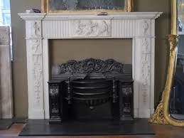 carved georgian marble fireplace surround at 1stdibs