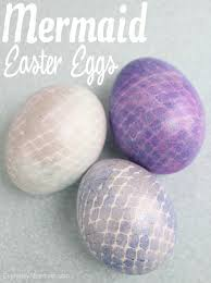 mermaid easter basket mermaid easter eggs everyday shortcuts
