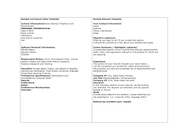 Curriculum Vitae Sample Format Doc by A Perfect Curriculum Vitae Sample Writing Curriculum Vitae Sample