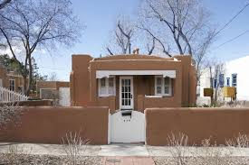adobe style home staying small in santa fe wsj mansion wsj