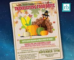 thanksgiving food drive items event flyer food drive flyer thanksgiving flyer autumn flyer