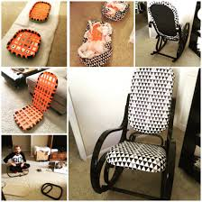 Thonet Vintage Chairs Vintage Thonet Bentwood Rocking Chair Makeover Perfect For The