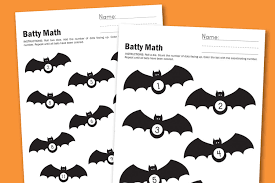 Halloween Free Printable Worksheets by Worksheet Wednesday Batty Math Paging Supermom