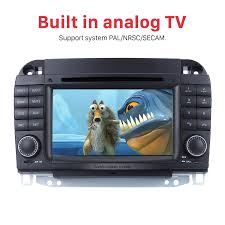 car dvd player for mercedes benz s w220 with gps radio tv bluetooth
