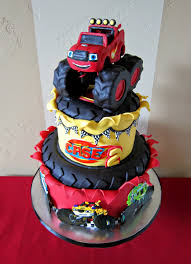 monster truck race track toys delectable cakes