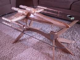 hand carved coffee table x wing coffee table is one for the nerds ubergizmo