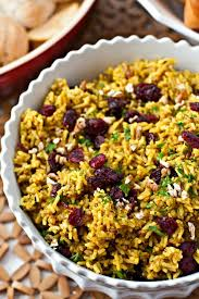 cranberry pecan curry rice food folks and