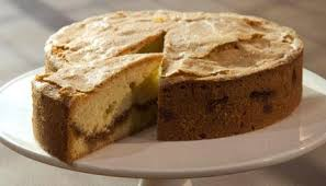 amaretto adds a glug of sophistication to this tasty cake