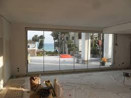 Bi Folding Glass Doors Exterior Brilliant Accordion Glass Doors Patio With Exterior Folding Patio