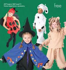 free no sew halloween costume patterns instructions
