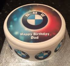 logo bmw bmw logo edible icing cake topper 01 u2013 the caker online