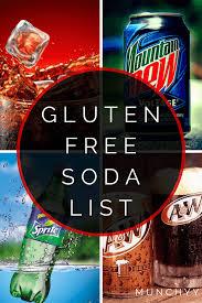 is bud light lime gluten free gluten free soda list the ultimate guide
