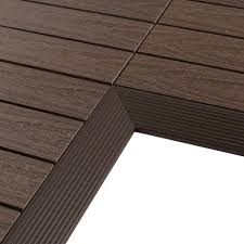 Udecx Home Depot by Newtechwood Deck Tiles Decking The Home Depot