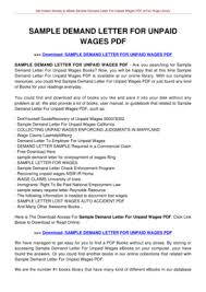 sample demand letter forms and templates fillable u0026 printable