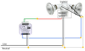 how to wire a motion sensor to multiple lights motion sensor light switch wiring diagram wiring data
