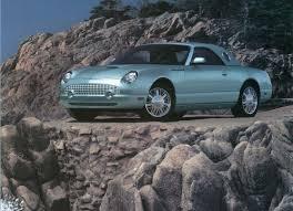 2002 2005 ford thunderbird phscollectorcarworld