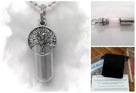 urn necklaces complete set tree of cremation urn necklace includes