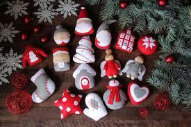 felt ornaments felt ornaments set set of